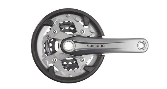 Shimano Alivio FC-M4000 40/30/22, 9-fach Kettenschutzring grau